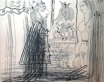 347 Series: No. 334 von Pablo Picasso