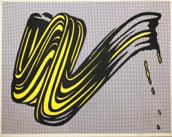 Brushstroke von Roy Lichtenstein