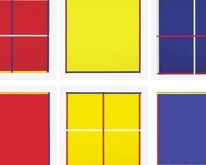 Rot, Gelb, Weiss, Blau von Imi Knoebel