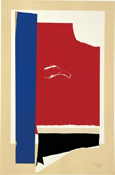 Robert Motherwell, On the Wing, 1984