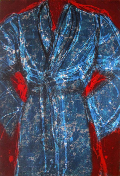 Jim Dine, Blue Vienna, 2013
