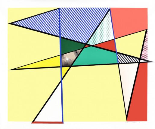 Roy Lichtenstein, Imperfect Print, from: Imperfect Series, 1988