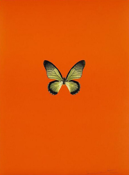 Damien Hirst, New Beginnings 6, 2011