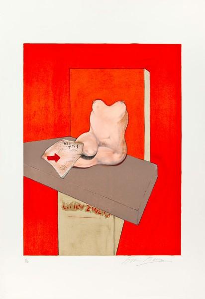 Francis Bacon, Etude du corps humain d'après Ingres, 1984