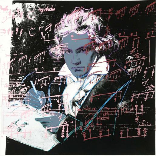 Andy Warhol, Beethoven (FS II.391), 1987