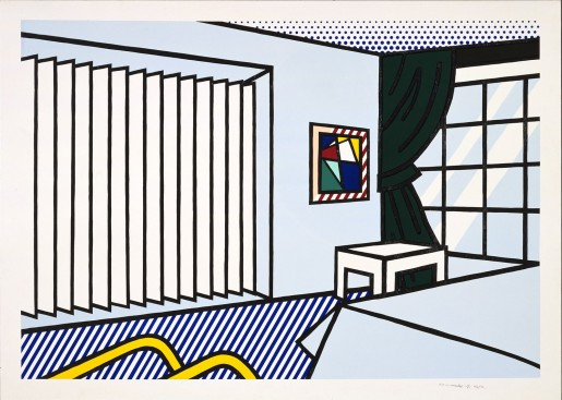 Roy Lichtenstein, Bedroom, 1991