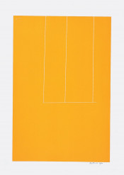 London Series I: Untitled (Orange)