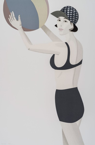 Alex Katz, Chance (Vivien), 2016