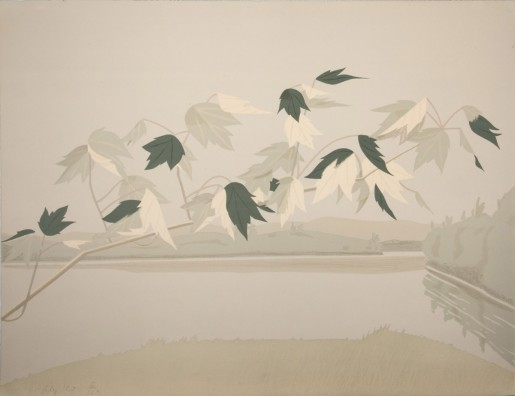 Alex Katz, Late July II, 1971