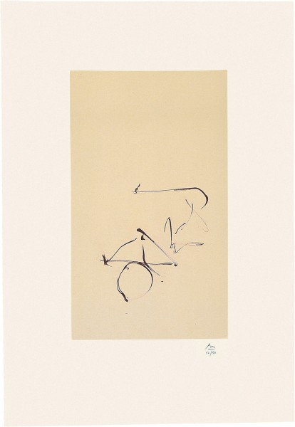 Robert Motherwell, Octavio Paz Suite: Return, 1988