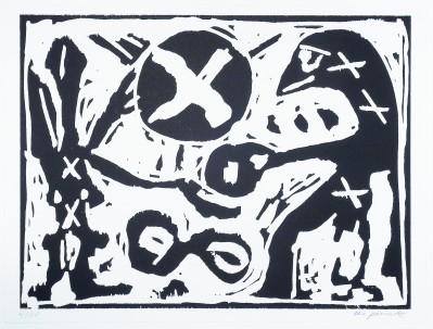 A.R. Penck - Gib her (da hast du)