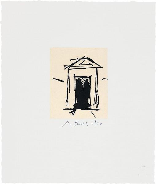Robert Motherwell, House of Atreus, 1983