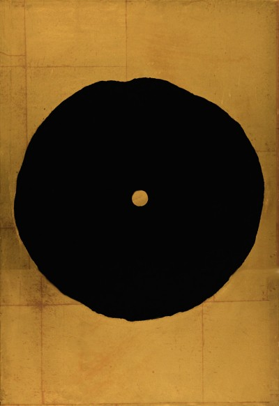 Donald Sultan, Black Trumpet, 2008