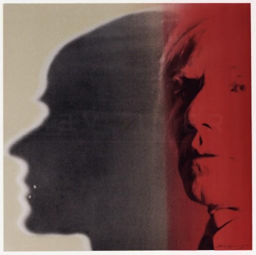 "Andy Warhol, The Shadow (FS II.267), from the Portfolio ""Myths"", 1981"