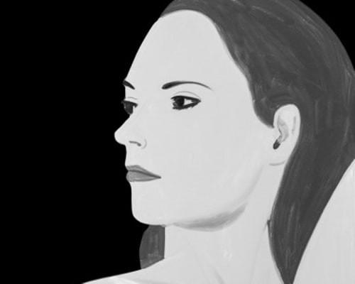 Laura 5 von Alex Katz