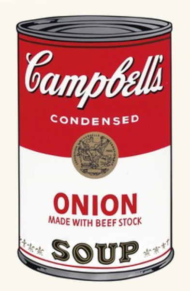 "Andy Warhol, Onion (FS II.47) from the Portfolio ""Campbell's Soup"", 1968"