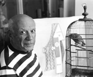 Picasso, Provence, France von René Burri