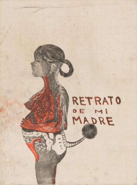 Sandra Vasquez de la Horra, Retrato de mi Madre, 2012