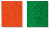 Orange und Grün