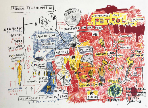 Jean-Michel Basquiat, Liberty, 1982-83/2017