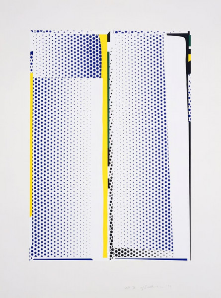 Roy Lichtenstein, Mirror #9, 1972