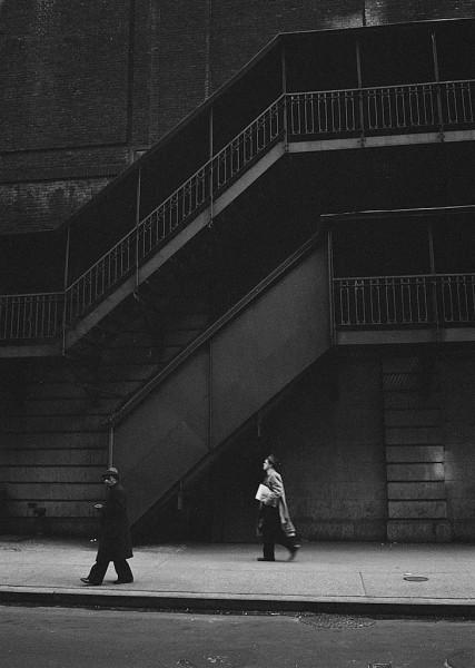 Thomas Hoepker, Men in the Street, New York, 1960