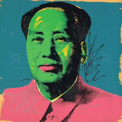 Andy Warhol, Mao (FS II.93), 1972