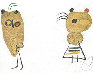 LEnfance dUbu von Joan Miró