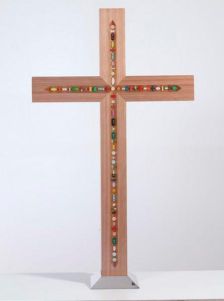 Damien Hirst, The Crucifix, 2005