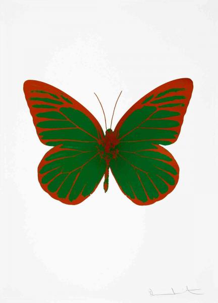 Damien Hirst, The Souls I - Emerald Green/Prairie Copper, 2010
