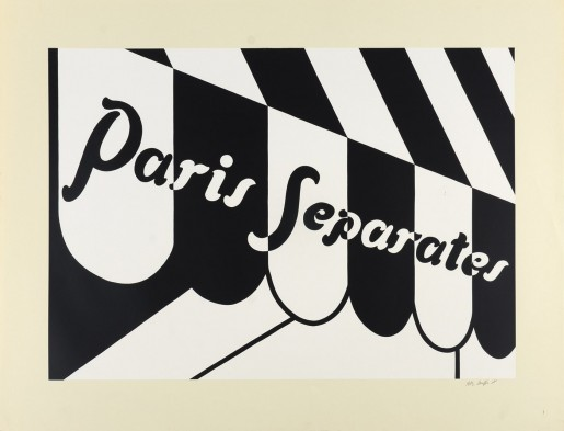 Patrick Caulfield, Paris Separates, 1973