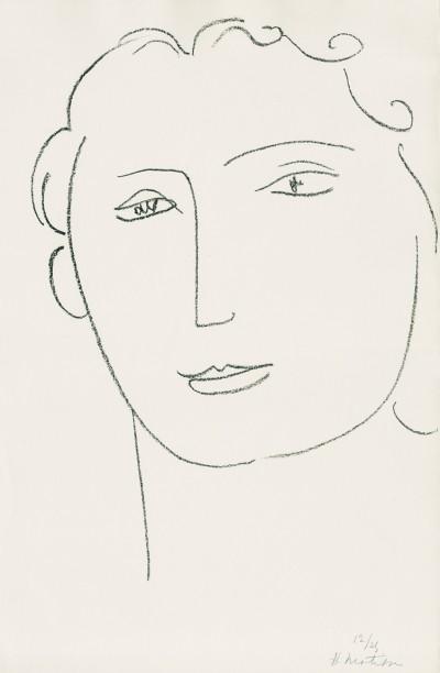 Henri Matisse, Marguerite VI, 1945