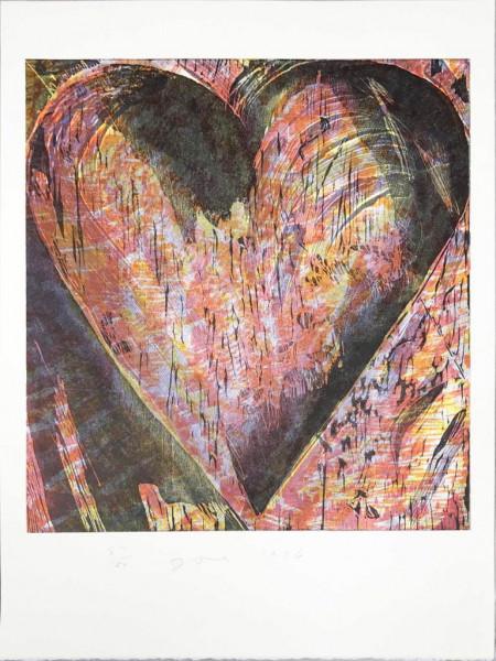 Jim Dine, Heart for BAM, 1996