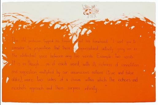 Jim Dine, The Old Professor, 1970