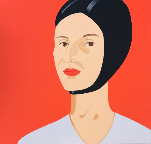 Alex Katz, Bathing Cap (Ada), 2012
