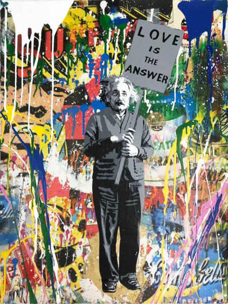 Mr. Brainwash, Einstein, 2018