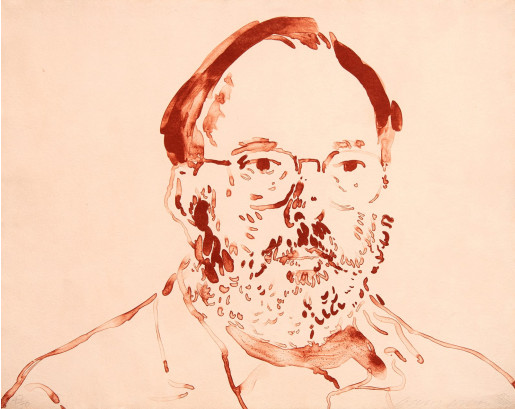 David Hockney, The Commissioner, 1979