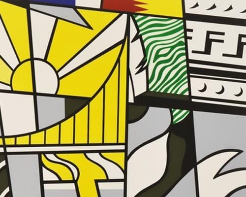 """Bicentennial Print, from the Portfolio """"America: The Third Century"""" von Roy Lichtenstein"""