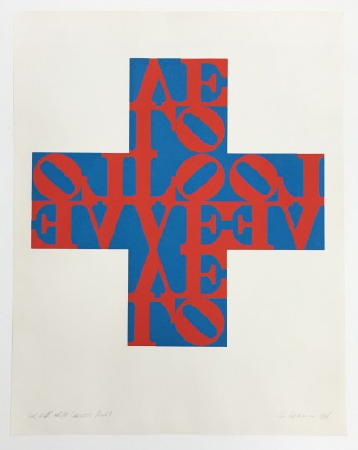 Robert Indiana, Love Cross, 1968