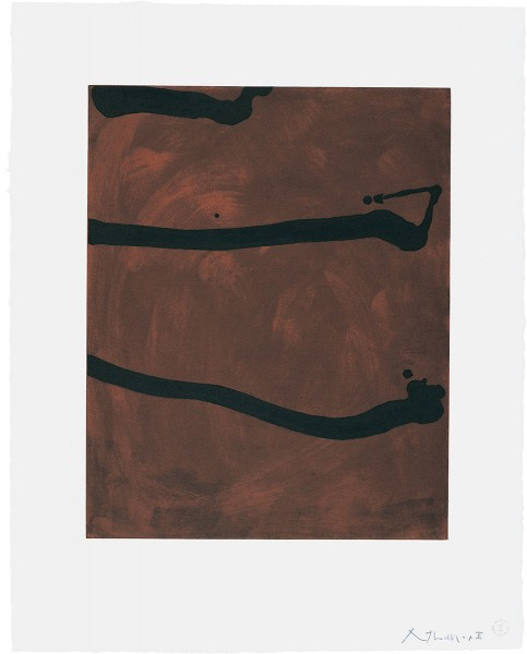 Robert Motherwell, Untitled, 1974