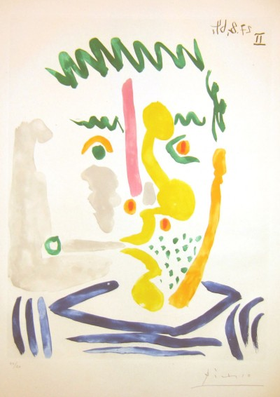 Fumeur von Pablo Picasso