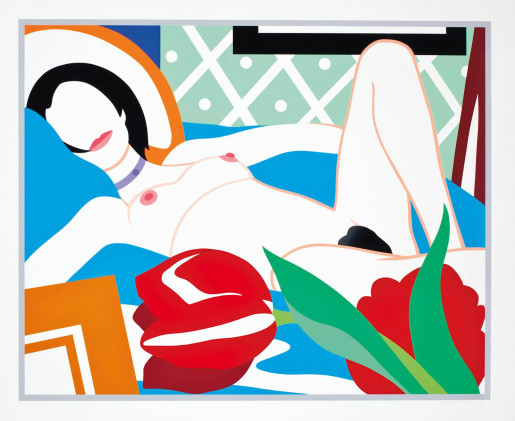 Tom Wesselmann, Monica with Tulips, 1989
