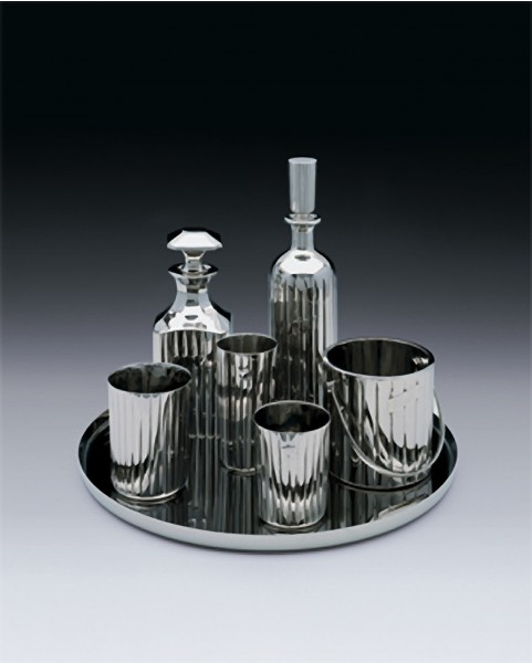 Jeff Koons, Baccarat Bar Set, 1986
