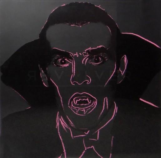 """Andy Warhol, Dracula (FS II.264), from the Portfolio """"Myths"""", 1981"""