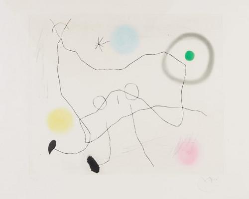 Crapaud Lyre von Joan Miró