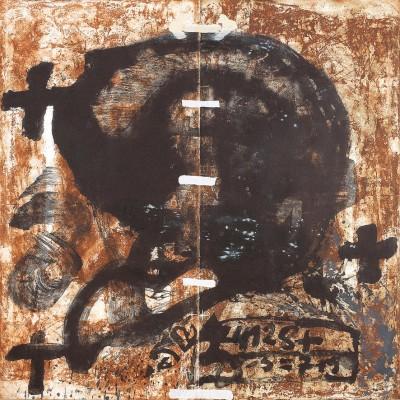 Diptic von Antoni Tàpies