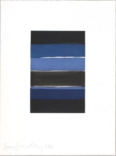 Landline Blue von Sean Scully
