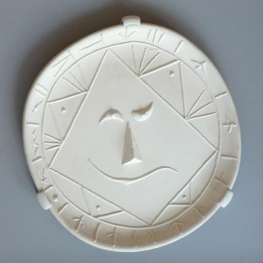 Pablo Picasso, Geometric Face, 1956