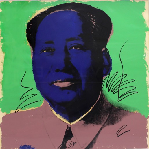 Andy Warhol, Mao (FS II.90), 1972
