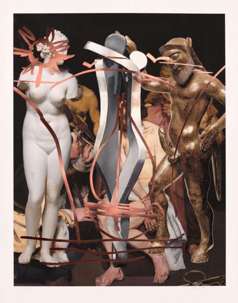 Jeff Koons, Antiquity (Manet), 2019